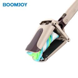 Boomjoy mano libre Self-Twist giratorio de 360 de fácil limpieza Mopa Plana
