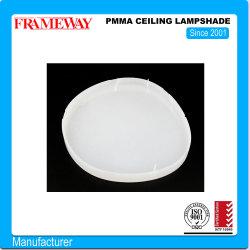 Fabricação de elementos de iluminação de tecto de PMMA abajur branco formando a vácuo