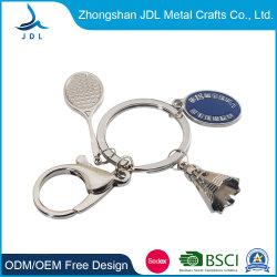Promotion personnalisée Alliage de zinc moulé Metal Craft avec soft de chaîne de clé de l'émail (001)