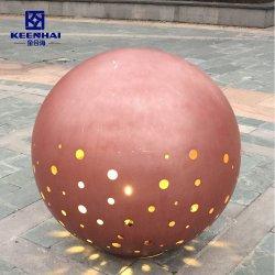 Hueco al aire libre decorativa de acero inoxidable 304 de la esfera y la bola