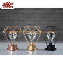 Cadena de metal de las luces LED Linterna Candelabro