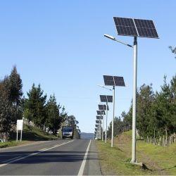 40W 12V открытый Sunjetpower солнечной LED уличное освещение для страны с Jinko MPPT панели