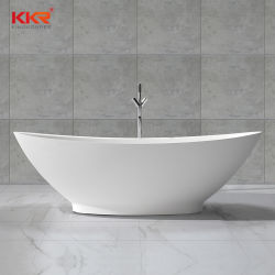 セリウムの浸る浴槽、支えがない熱い風呂のたらい、アクリルの固体表面の石造りの浴槽