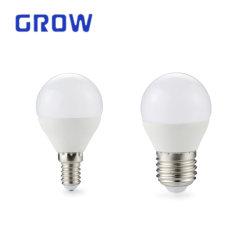 Bombilla LED G45 E27 E14 precio de fábrica de plástico2835 SMD&Al foco LED
