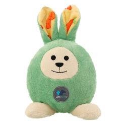 Oeuf de Pâques chien jouet en peluche forme de lapin Wear-Resisting Pet Toy avec un mécanisme solide