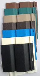 مادة كلوريد الفينيل الملونة المخصصة المصنوعة من الفينيل متعدد الفينيل ذات مظهر خارجي من مادة الكلوريد للأكسترنر الجدار