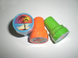 Brinquedos para crianças de alta qualidade personalizada Bonitinha Stamper Auto Inking Plástico Carimbo