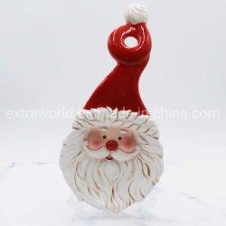 ملعقًا من السيراميك مصبوغ يدويًا بأدوات مطبخ عيد الميلاد للهدايا