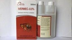 De Vloeibare Ivermectin Injectie van de hond 1% Goede Fabrikant Ivermectin