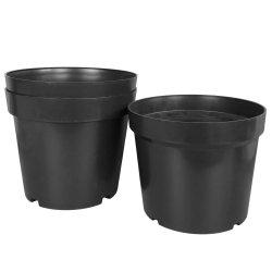 De goedkope In het groot Glanzende het Eindigen Internationale Bloempot van het Kinderdagverblijf van de Planters van de Potten van de Bloem van het Balkon Plastic