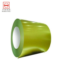 Zinco Prepainted Metal Alumínio PPGI cor de alumínio de zinco da bobina de metal PPGI Revestimento cor de alumínio de zinco da bobina de Metal