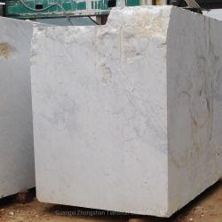 China Carrara Guangxi mármore branco Pedreira Bloco preço de fábrica da Pedra