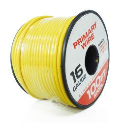 Schwachstromdraht für Automobilanzeigeinstrument-einkernige farbunterlegte selbstbewegende elektrischer Draht-Isolierung des kabel-16 mit Plastikbandspule