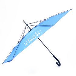 Gros Détail mains personnalisé parapluie gratuit Inverse de marche arrière