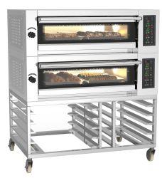 Commecial 빵집 선반 대류 회전하는 굽는 Deek 오븐 완전한 빵집 생산 라인 겹켜 빵집 음식 오븐 장비