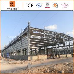 倉庫または鋼鉄建物または研修会の/Hangar/Cowshed/Steelの構築の建物のためのプレハブの鉄骨構造