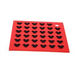 Kundenspezifischer Qualitäts-Nahrungsmittelgrad-Silikon-GummiHutch verteidigt silikon-Auflage-Gummi-Dichtungen der Matten-3m anhaftende Papier