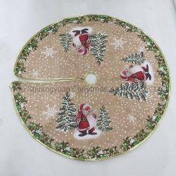 Saia de árvore de Natal com o Boneco de Neve Deer Santa Tree
