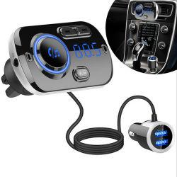Bluetooth MP3-Player Doppel-USB QC3.0 fasten Aufladeeinheits-Freisprechauto-Installationssatz mit bunten Atmosphären-Lichtern