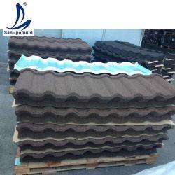 기계 돌에게 입히는 금속 기와를 하는 온실 지붕 물자 도와