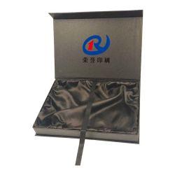 Elegante cinta de regalo personalizados de papel de embalaje cajas de pantalla