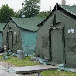 防水軍の軍隊のテントのためのPVCテントの防水シートファブリック