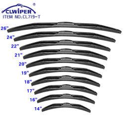 Из нержавеющей стали Clwiper универсальный гибридный щетку очистителя заднего стекла (CL719-T)