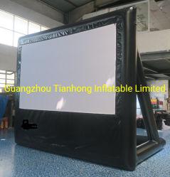 3.7X3m 밀폐 PVC 팽창식 동영상 스크린