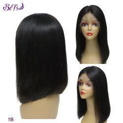 Дмитрий парики 1b прямой цвета волос человека парики наилучшее качество кружева передней Боб парики