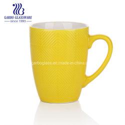 Conception personnalisée 360ml jaune Émail de Couleur Café Tasse en céramique pour le vrac0902360SJJ Sal (TC-A)