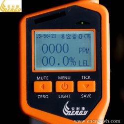 충전식 리튬 배터리, LPG, LNG 가스 누출 분석기(전화용 앱 포함