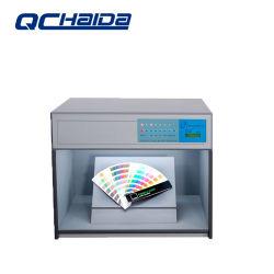 織物テストのためのライトボックス機械を機械で造る携帯用小さいカラー