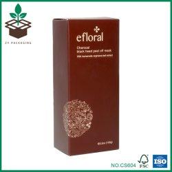 Cabeça dobrável de chocolate descascar o papel de embalagem Armazenamento Cosméticos