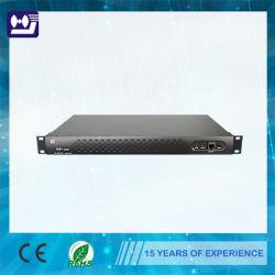 1U de 19'' el modulador de CATV para módem por cable