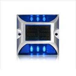 파란 LED 섬광 알루미늄 태양 도로 장식 못