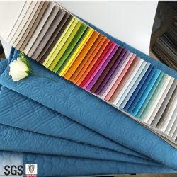 熱い販売100%年のポリエステル明白な織物のソファーカバービロードファブリック