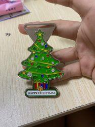 Het Hangende Ornament van de Kerstboom van de Gift van de herinnering met LEIDEN Licht