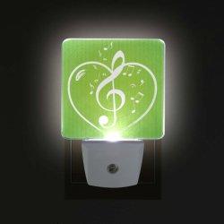 Auto LED du capteur de lumière de nuit de l'Énergie de l'enregistrement des enfants de lumière Light