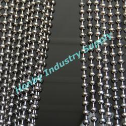 El lujo de 10mm color metalizado de la cadena de bolas colgando cortina de abalorios Metal