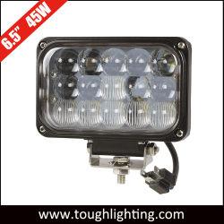 4X6.5بوصة مصباح عمل السيارة الآلي LED مصباح العمل للشاحنة 45 واط