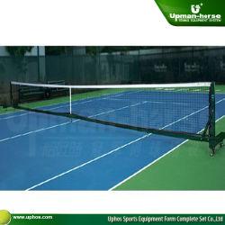De beweegbare Freestanding Posten van het Tennis van het Aluminium