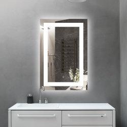 2019 прямоугольник ванная комната с подсветкой светится светодиод горит зеркало для макияжа составляют лампы