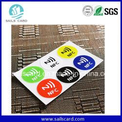 Ntag213 25mm의 원형 RFID NFC 스티커(재고 있음)