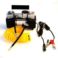 Doppia CC 12V della pompa del pneumatico del gonfiatore del pneumatico dell'automobile del cilindro di Digitahi