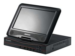10inch Surveillence Products kabeltelevisie LCD DVR Combo