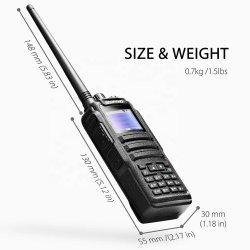 Doble banda VHF UHF Baofeng DM-1701 5W Digital Dmr Walkie Talkie