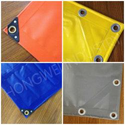 Tissu imperméable en PVC pour couvrir des bâches de camion