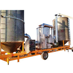 6tpd Landbouwbedrijf mobiele graanbonen droger Paddy Drying machine