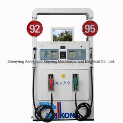 4 전시 2 주 인쇄 기계 2 멀티미디어 고품질 연료 분배기의 주유소 장비