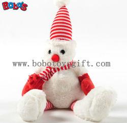 Draagt Zachte Kerstmis van de Pluche van Squeakly het Stuk speelgoed van het Huisdier als Gift van Nice voor Hond en Kat Bosw1085/16cm